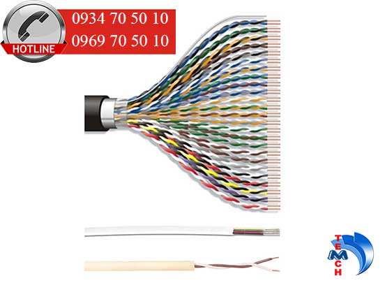 Cáp mạng Cat5e UTP Cable, 25-Pair
