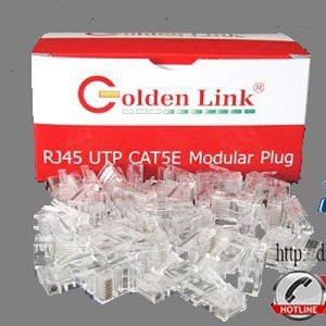 Đầu bấm cáp mạng Golden Link RJ45 UTP CAT5e