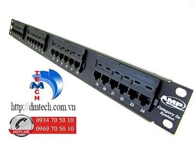 AMP-PATCH-PANEL-CAT5E-24-PORT
