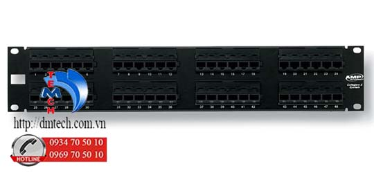 AMP-PATCH-PANEL-CAT5E-48-PORT