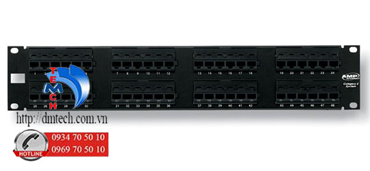 AMP-PATCH-PANEL-CAT6-48-PORT