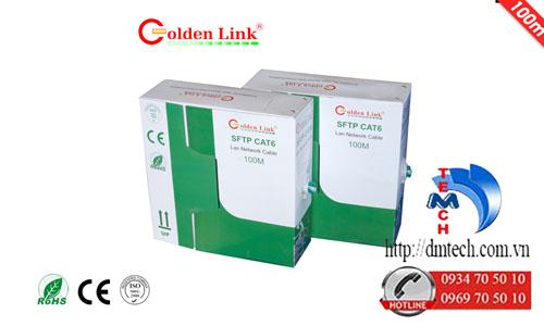 Dây cáp mạng Golden Link Premium SFTP CAT6 100m