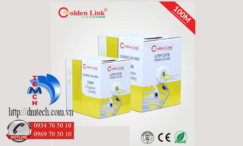 Dây cáp mạng Golden Link Premium UTP CAT6 100m