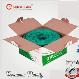 Dây cáp mạng SFTP Cat6 Golden Link Premium