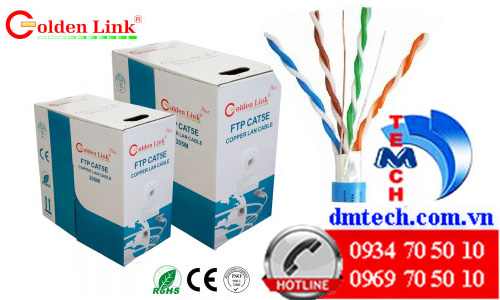 cáp mạng golden link cat5e ftp