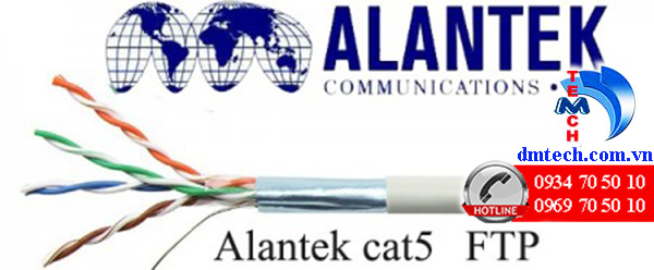 cấu tạo cáp alantek cat5e FTP