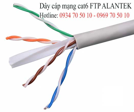 Cáp mạng Cat6 FTP Alantek