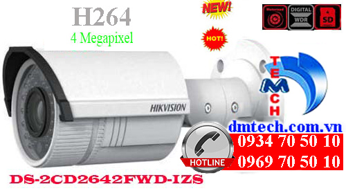 camera ip hong ngoai hikvision DS-2CD2642FWD-IZS