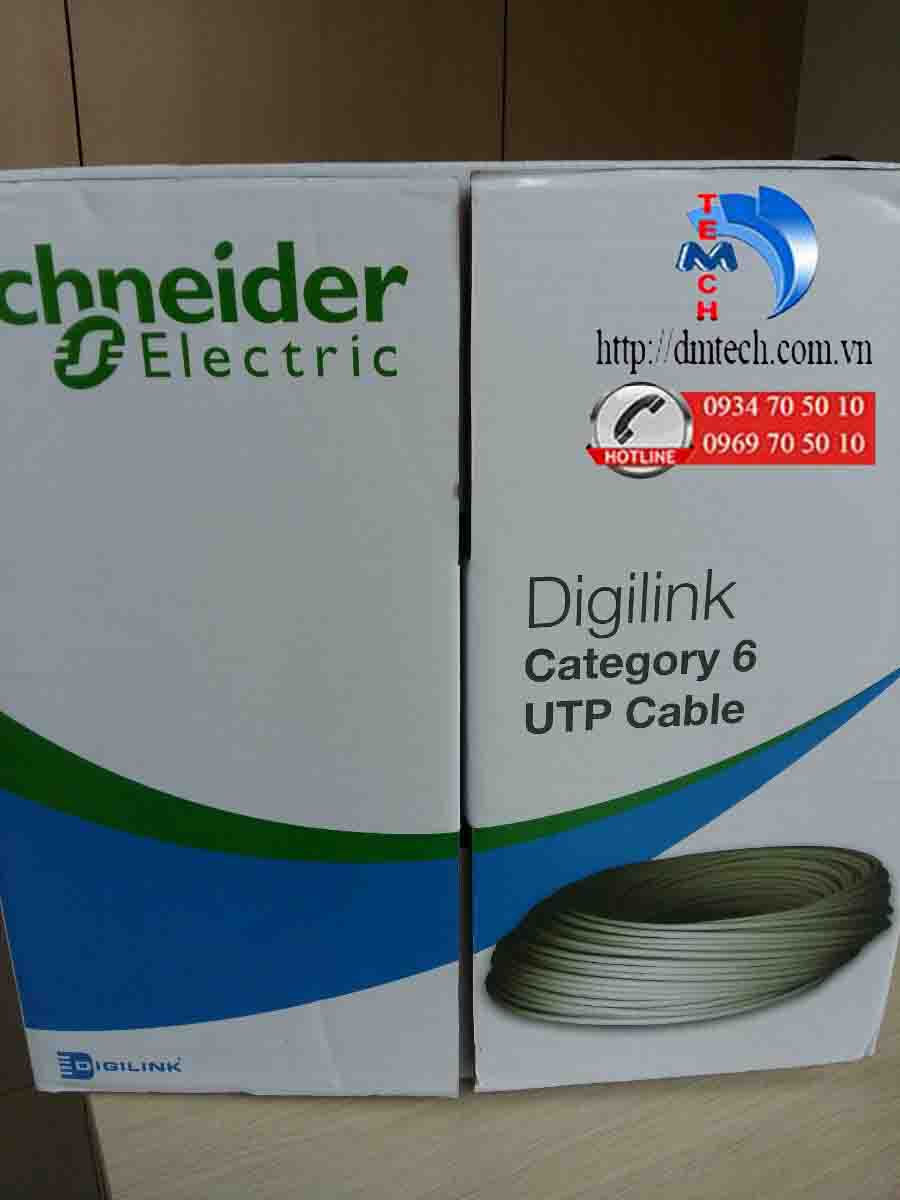Cáp mạng CAT6 UTP Schneider