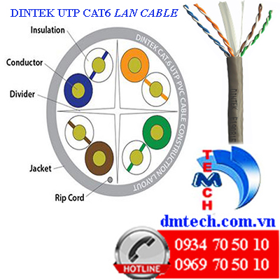 Dintek-CAT6-UTP-cau tao