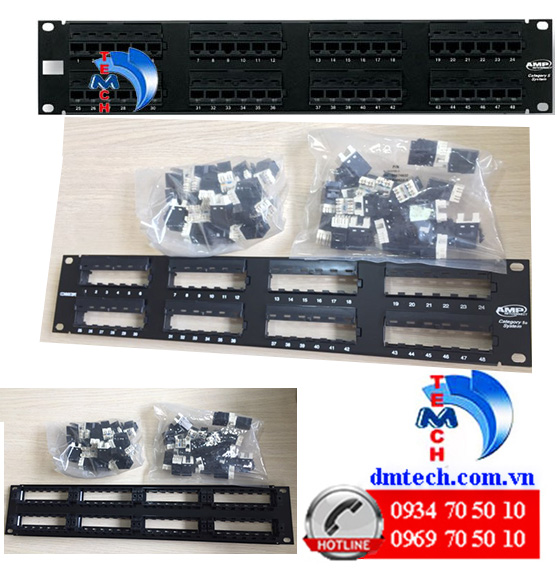 Patch-panel-AMP-48-port