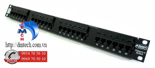AMP-PATCH-PANEL-CAT6-24-PORT