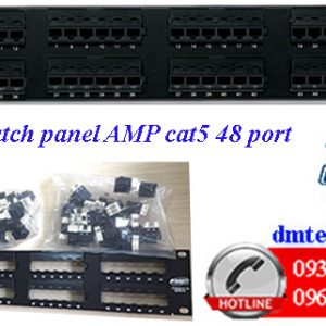 Patch-panel-AMP-cat5-48port