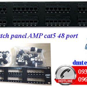 Patch-panel-AMP-cat5-48port