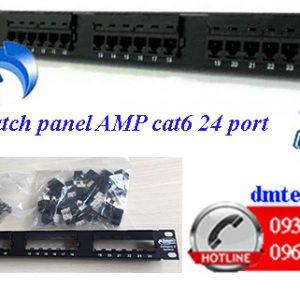 Patch-panel-AMP-cat6-24port