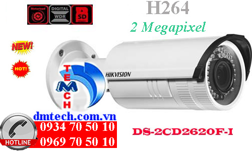 camera ip dome hong ngoai DS-2CD2620F-I