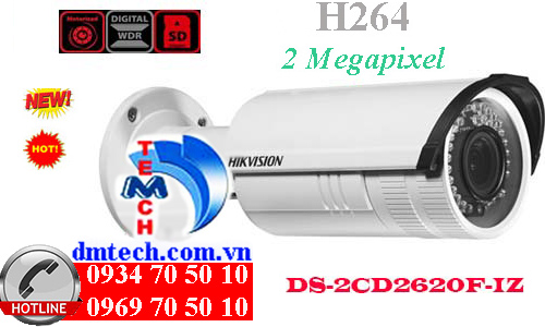 camera ip dome hong ngoai DS-2CD2620F-IZ