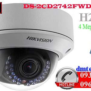 camera ip hong ngoai hikvision DS-2CD2742FWD-I