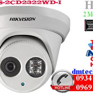 camera ip dome hong ngoai DS-2CD2322WD-I