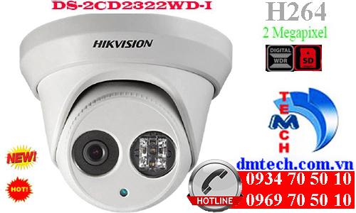 camera ip dome hong ngoai DS-2CD2322WD-I