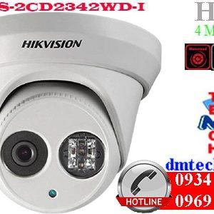 camera ip dome hong ngoai DS-2CD2342WD-I