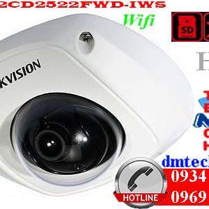 camera ip dome hong ngoai DS-2CD2522FWD-IWS