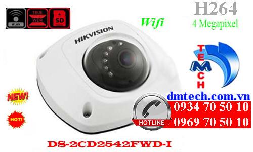 camera ip dome hong ngoai DS-2CD2542FWD-I