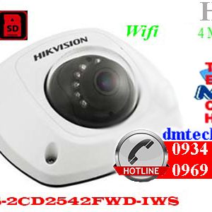 camera ip dome hong ngoai DS-2CD2542FWD-IWS
