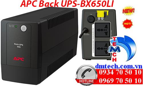 Bộ lưu điện APC Back UPS BX650LI