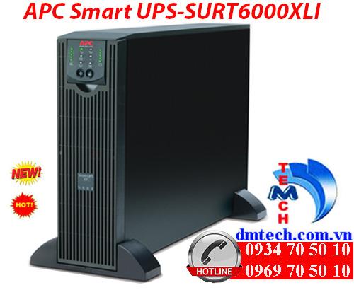 Bộ lưu điện APC Smart UPS-SURT6000XLI