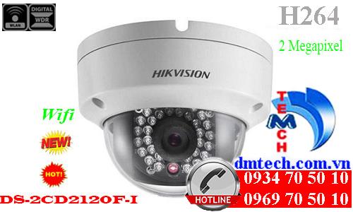 camera ip dome hong ngoai DS-2CD2120F-I