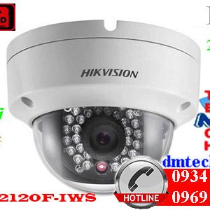 camera ip dome hong ngoai DS-2CD2120F-IWS