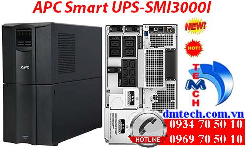 Bộ lưu điện APC Smart UPS-SMT3000I