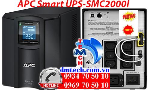 Bộ lưu điện APC Smart UPS-SMC2000I