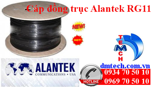 cáp đồng trục Alantek RG11