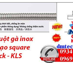 Ống ruột gà inox cấu tạo square lock - KLS