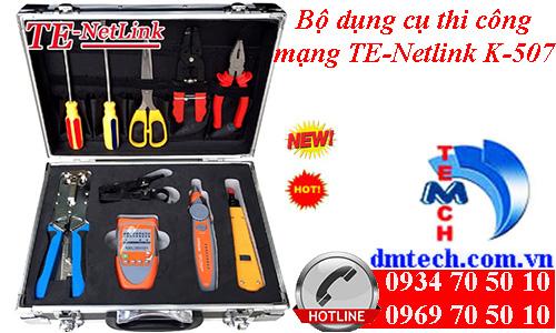 Bộ dụng cụ thi công mạng TE-Netlink K-507