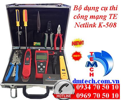 Bộ dụng cụ thi công mạng TE Netlink K-508