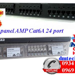 Patch-panel-AMP-cat6A-24port