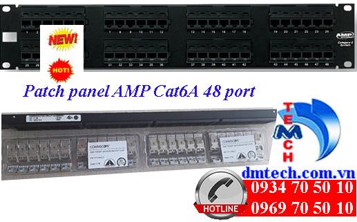 patch panel amp cat6a 48 port