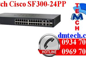 Switch Cisco SF300-24PP