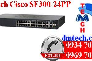 Switch Cisco SF300-24PP