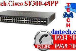 Switch Cisco SF300-48PP
