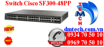 Switch Cisco SF300-48PP