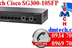 Switch Cisco SG300-10SFP
