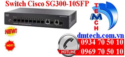Switch Cisco SG300-10SFP