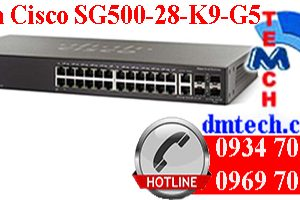 Switch Cisco SG500-28-K9-G5