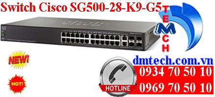 Switch Cisco SG500-28-K9-G5