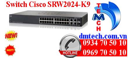 Switch Cisco SRW2024-K9