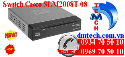 Switch Cisco SLM2008T-08